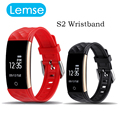 S2 Bluetooth 4.0 Smart Band Wristband Heart Rate Monitor OLED Smartband Fitness Step Bracelet For Android IOS Phone
