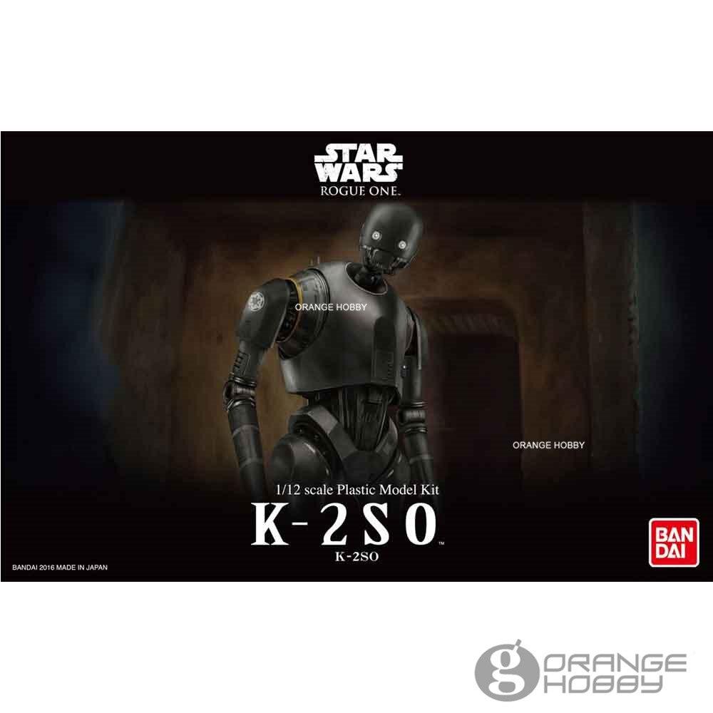 Bandai Star Wars Rogue One 1/12 K-2SO Assembly Model Kits bandai сборная модель с 3po star wars bandai
