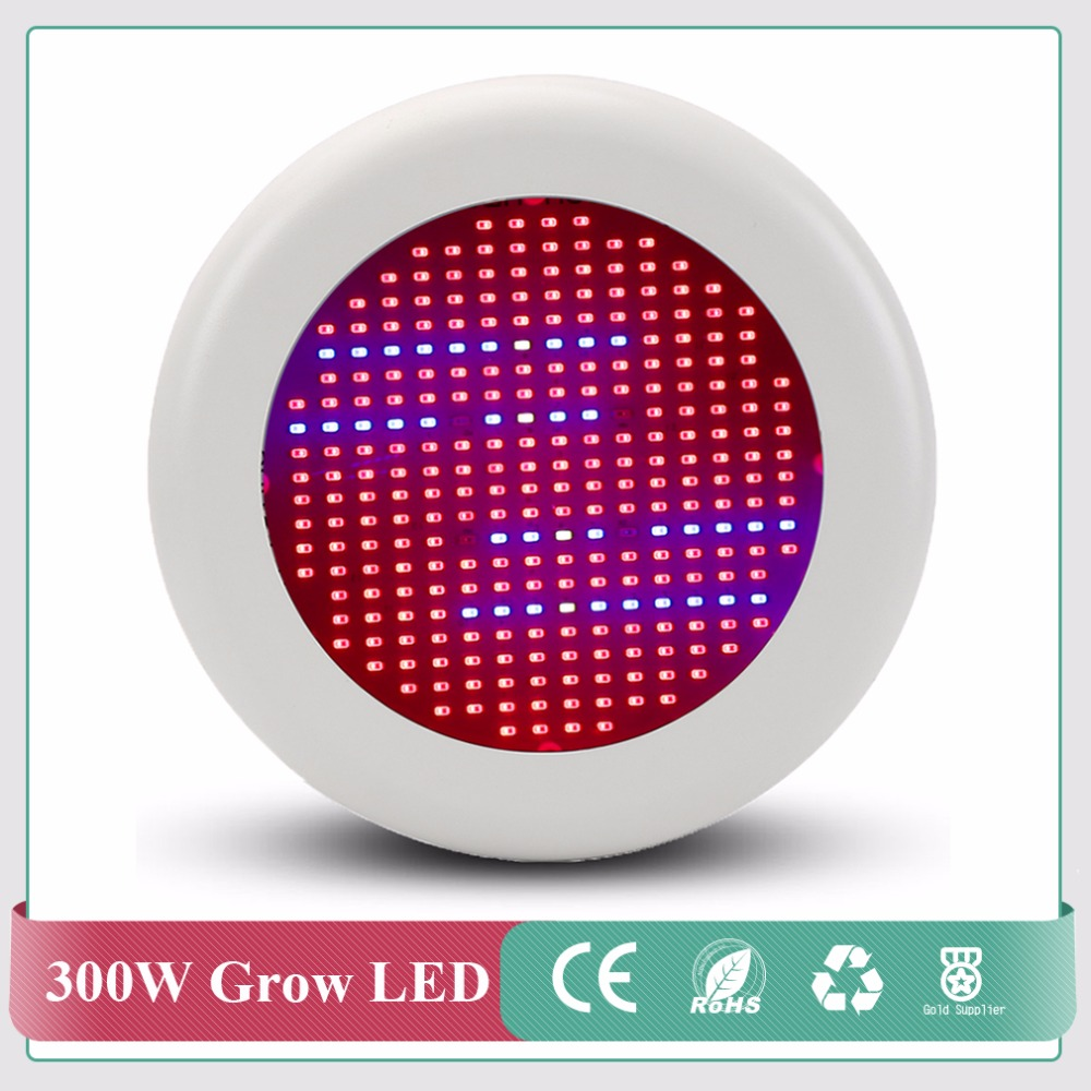 SMD Chip 300W Full Spectrum AC85~265V LED Grow Light For Flowering Plant and Hydroponics System Limited Time Offer 300w grow led light ufo full spectrum 277leds smd5730 plant grow lamp for hydroponics system aquarium grow tent flowering