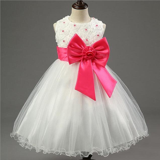 2017 nuevo vestido de la princesa para las niñas bebé embroma la ...