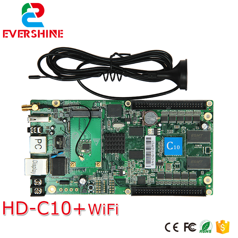 C10 HD-C10 Wireless Sending Card and Asynchronous Vedio Full Color LED display Control Card купить недорого в Москве