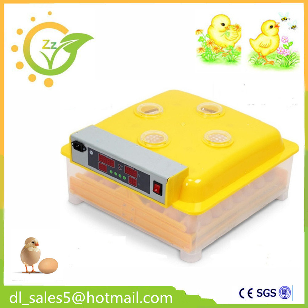 Automatic egg incubator 48 eggs brooder poultry hatchery machine for Hatching Chickens Ducks Geese Quails Parrots Pigeon ce certificate poultry hatchery machines automatic egg turning 220v hatching incubators for sale