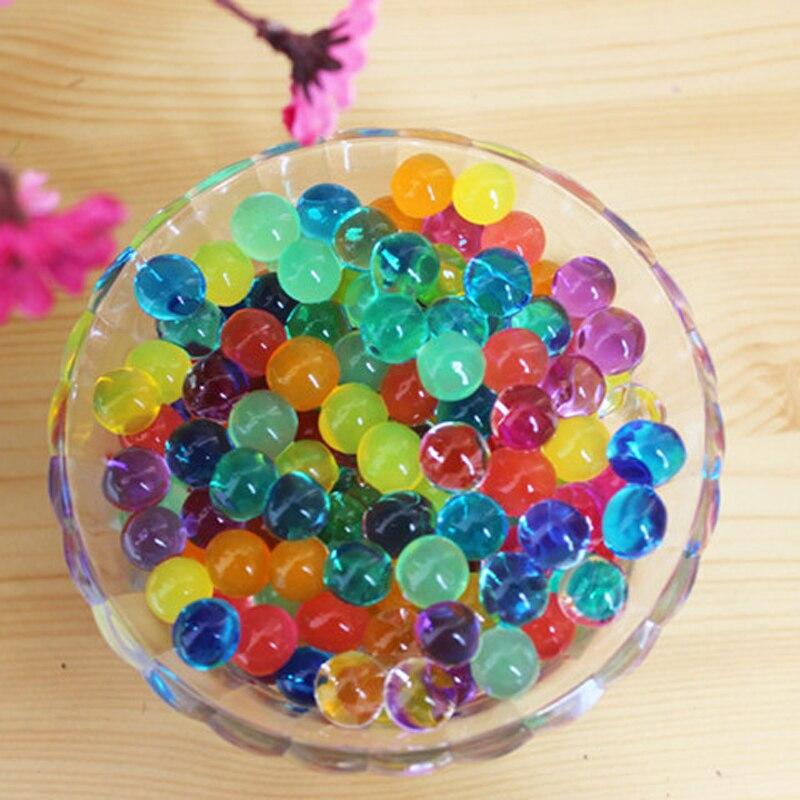 Uitverkoop 4 zakken Crystal Bodem Hydrogel Gel Polymeer Waterparels - Huisdecoratie