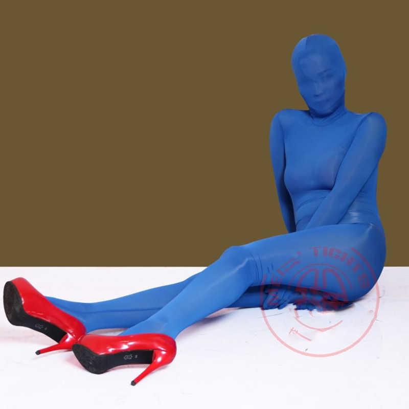 ผ้าไหมน้ำแข็งไม่มีรอยต่อโปร่งใส Bodystocking เซ็กซี่ร้อนเร้าอารมณ์ Body ชุดว่ายน้ำ STAGE เครื่องแต่งกาย One Piece Babydoll Bodysuit ชุด