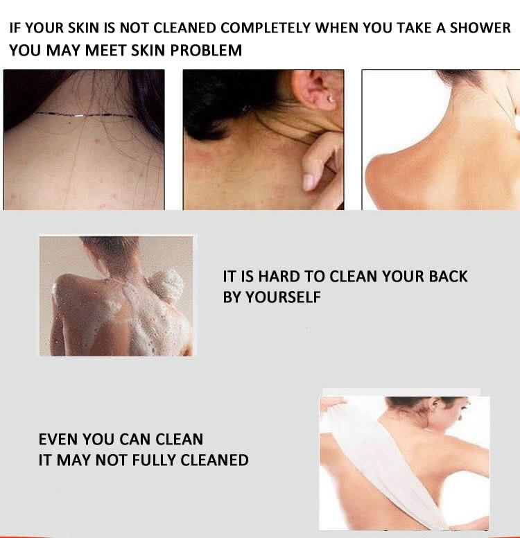 esponja e escova de banho