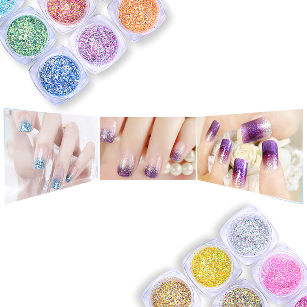 Best Deal 12 Color 3d Max Nail Art Glitter Powder Decorations