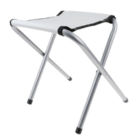 Portable Folding Chair Lightweight Aluminium Alloy Fishing Stool for Camping Barbecue Picnic Fishing|Fishing Chairs|Sports & Entertainment -