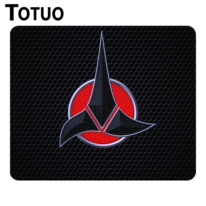 Luxury Printing Star Trek Gaming Mousepad Non Slip Durable Rubber Mousepad for PC Computer Optical Mice Play Mats
