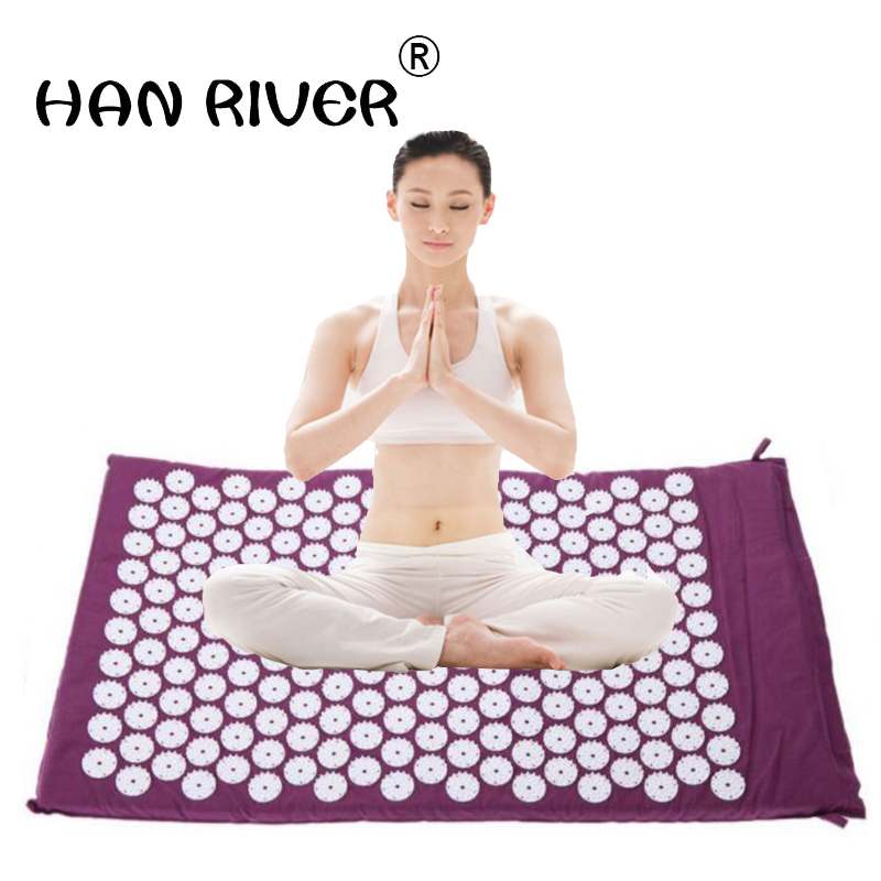 Health protection acupoints foot massage cushion refers to linking piece foot massage blanket yoga mat 68*42cm Health protection acupoints foot massage cushion refers to linking piece foot massage blanket yoga mat 68*42cm