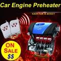 Heat Anywhere! Car Preheater 12V Remote Control Car Engine Preheater Engine Oil Preheating System 12V Engine Preheater