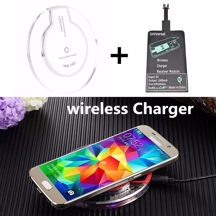 Universal wireless Charger Pad for Samsung Galaxy Tab S2 9.7 SM-T810 T815 Mobile Phone Charger USB wireless receiver for lg G