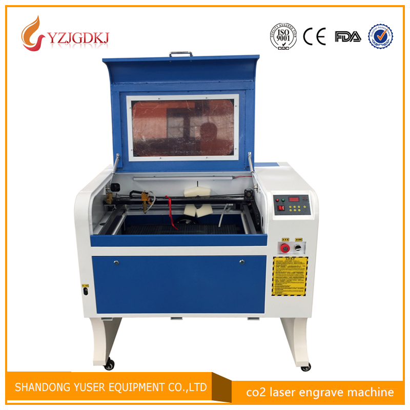 4060 Laser Engraving 600*400mm 50W Co2 Laser Cutting Machine with Honeycomb Specifical for Plywood/Acrylic/Wood/Leather mini laser cutting machine for leather wood paper acrylic plexiglass price
