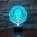 Лев моделирование светодиодный ночник Романтический подарок настольная лампа креативные продукты настольная лампа для спальни Рождестве...