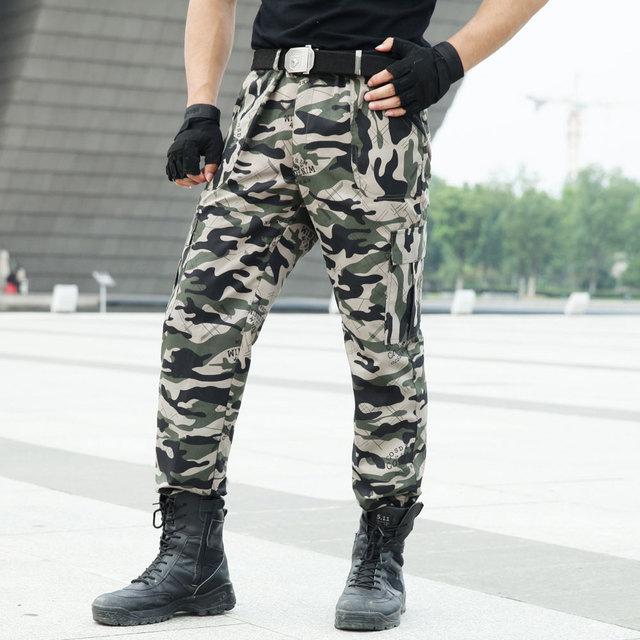 de61b8f2eaa00b All'aperto degli uomini Pantaloni Cargo Tattici Commando di Combattimento  Dell'esercito Militare Tute