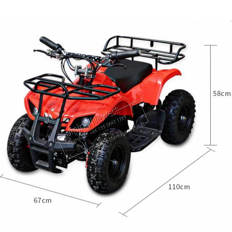 Aire de jeux extérieure Mini RC auto tamponneuse enfants Ride télécommande électrique moto jouets ATV sable plage voiture pour entreprise de location