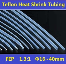 16~40mm  FEP  F46  1.3:1 Teflon Heat Shrink Tubing Insulation Shrinkable Tube 600V Free Shipping – 1 Meter