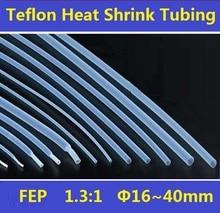 16~40mm  FEP  F46  1.3:1 Teflon Heat Shrink Tubing Insulation Shrinkable Tube 600V Free Shipping – 1 Meter