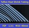 16 40mm FEP F46 1 3 1 Teflon Heat Shrink Tubing Insulation Shrinkable Tube 600V Free