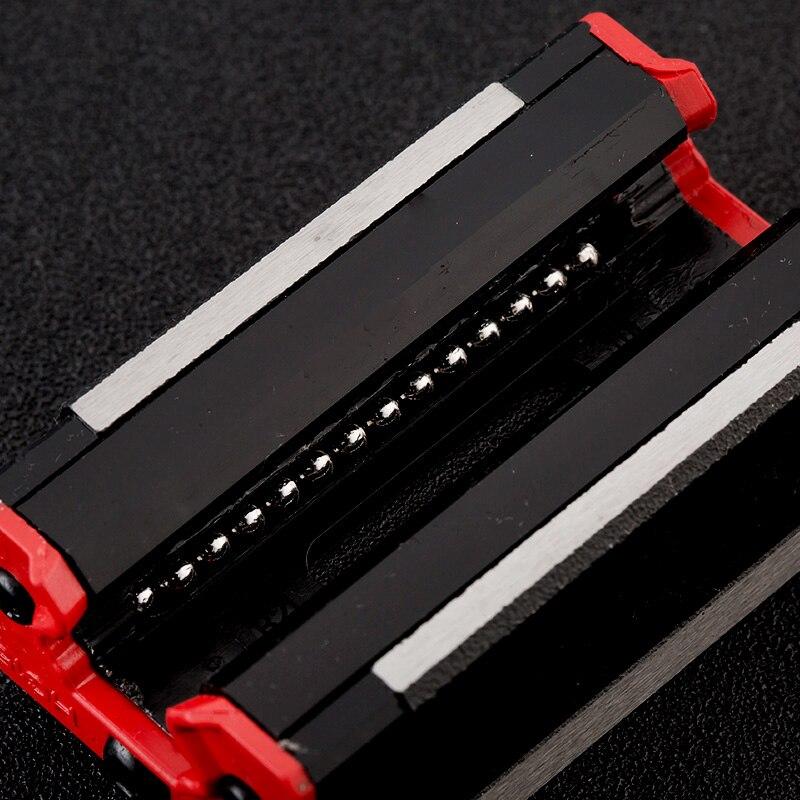Rail de précision 1PC HGH30 guide linéaire + 2 pièces HGH30CA bloc ou HGW30CC bride bloc L 400 500 600 700 800-1500mm pour CNC - 6