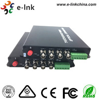 4Ch 720 P HDTVI оптический преобразователь для 1MP TVI камеры