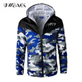 Uwback 2017 New Brand Clothing Camouflage Jacket Men Casual Thin Loose Hooded Jackets Men Plus Size 4XL Windproof Coat CAA460
