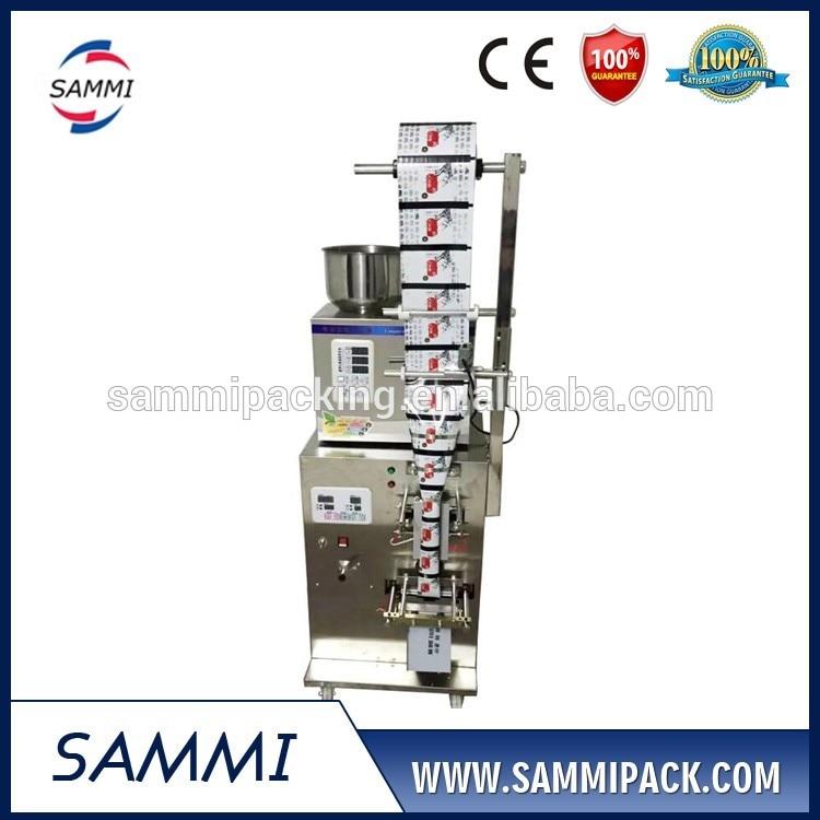 Küçük otomatik paketleme makinesi için baharat / pirinç / granül / tahıl / somun / masala