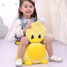 Duck Baby Closestool,Plastic baby potty,Cheap Child Toilet t