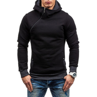 2017 Fashion Brand Hoodies Men Sweatshirt Male Zipper Hooded Jacket Casual Sportswear Moleton Masculino Men Hoodie