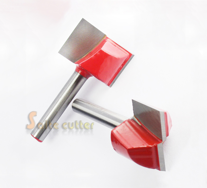 Woodworking CNC Router Bottom Cleaning Router Woodworking Bits SHK 6mm CED 32mm High Quality