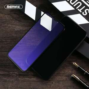 Image 3 - REMAX 9D Anti Blue Ray Tempered Glass For for iPhone X XS XR XSMA Anti Blue Light Screen Protector 9H Toughened Film
