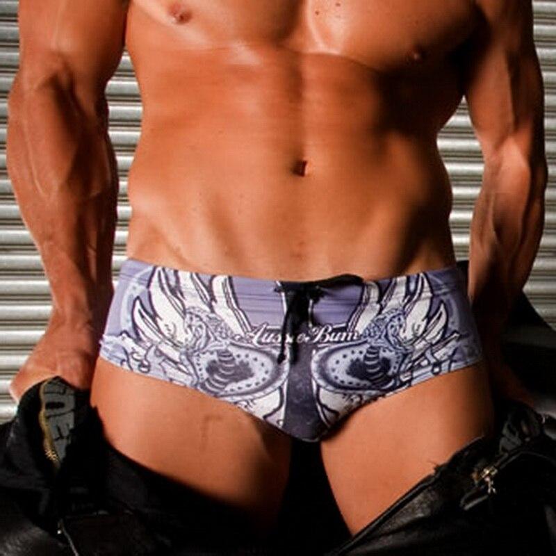 Gay Men Swimwear Sexy Swim Briefs Men Swimsuit Bikini Maillot De Bain Sungas De Praia Homens Zwembroek Heren 205