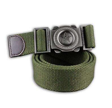Promoción Envío gratis espesantes vaqueros pretina cinturones de moda cinturones de lona de los hombres ocasionales al aire libre militar de los hombres cinturones