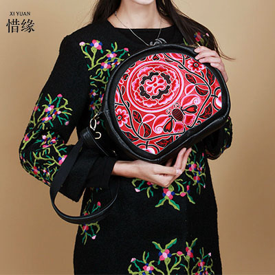 XIYUAN BRAND Women Handbags Shoulder bolsos Italy Handbag Retro Handmade Bolsa Feminina embroidered bag Ladies Messenger Bags vogue star women bag for women messenger bags bolsa feminina women s pouch brand handbag ladies high quality girl s bag yb40 422