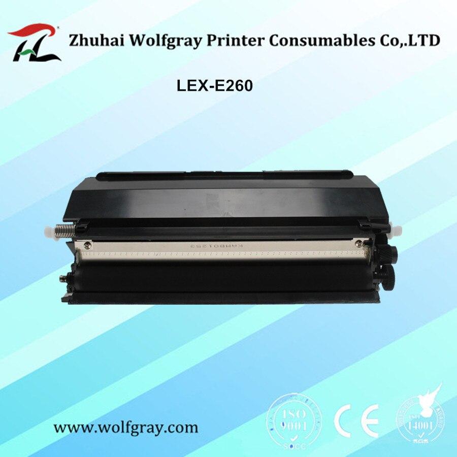 Lexmark E260A11A / 21A E260d / E260dn / E360d / E360dn / E460d / E460dn / E460dw / E462tn के लिए संगत टोनर कार्ट्रिज