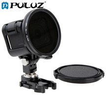 PULUZ 58mm Round Circle CPL Lens Filter with Cap for GoPro HERO5 Session /HERO4 Session /HERO Session экшн камера gopro hero5 session