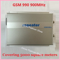 Hot sale Sunhans GSM990 GSM 900MHz 3W (40dBm) gain 85dB cell phone Signal Booster Amplifier Repeater kit for Coverage 5000square