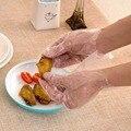 OTHERHOUSE 200 шт одноразовые перчатки для обеденного ресторана  перчатки для барбекю  прозрачные экологически чистые PE перчатки для очистки кухн...