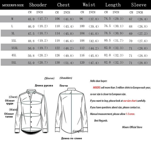2019 New Fashion Casual Shirt Men Long Sleeve Slim Fit Men's Casual Button-Down Shirt Formal Dress Shirts Men Clothes Camisa 5