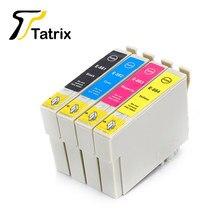 Tatrix – cartouche d'encre pour Epson Stylus, Compatible T0881, T0882, T0883, T0884, CX4400, CX4450, CX7450, CX7450, NX100, NX105, NX510, NX400