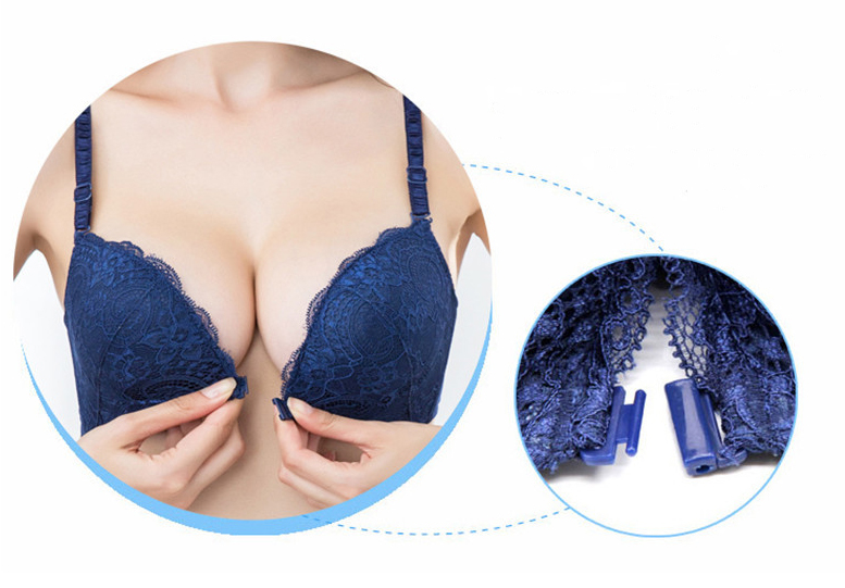 Intimates Bras For Women Sexy Underwear Super Push Up Front Closure Bra Lace Front Bras For Women Push Up Bralette 28
