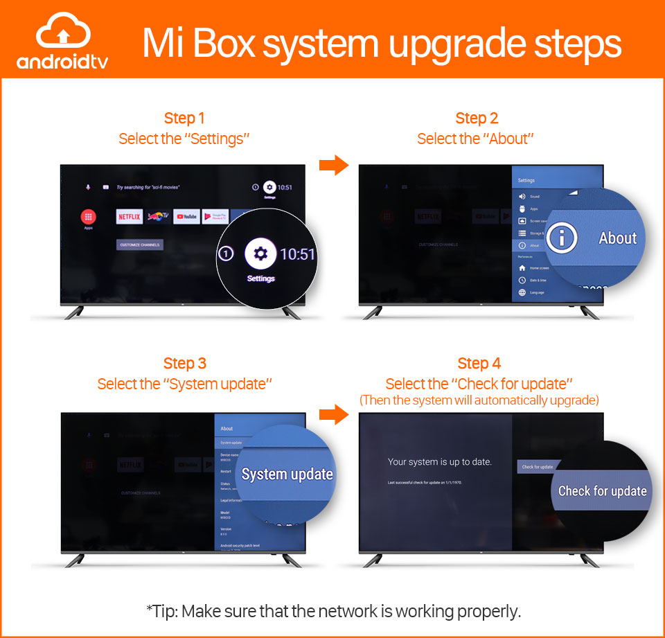 Mi Box system upgrade steps_Detail