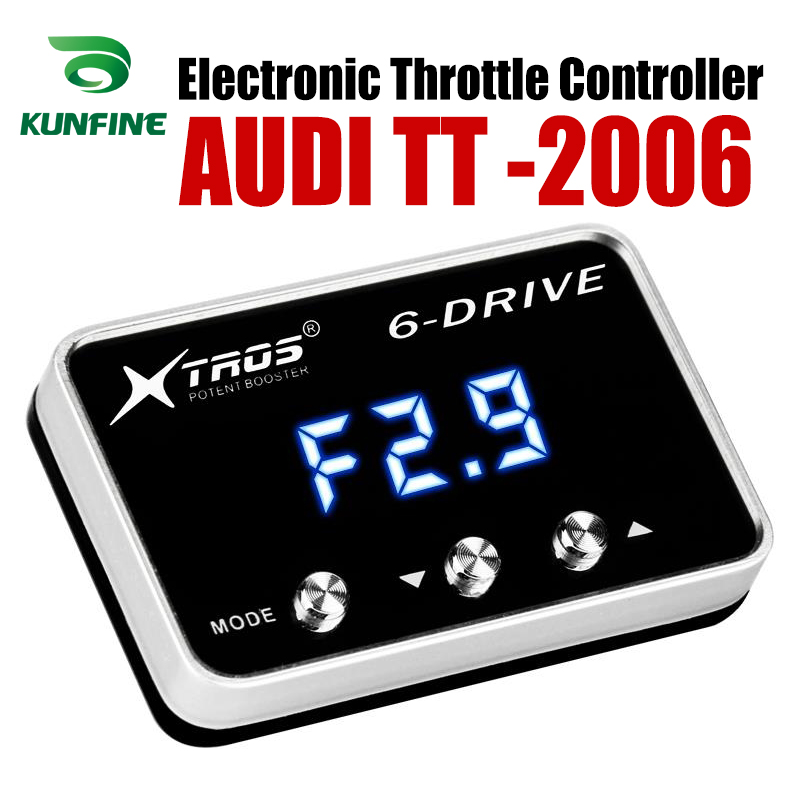Car Electronic Throttle Controller Racing Accelerator Potent Booster For AUDI TT 2006 Forwards Tuning Parts Accessory Car Electronic Throttle Controller     - title=