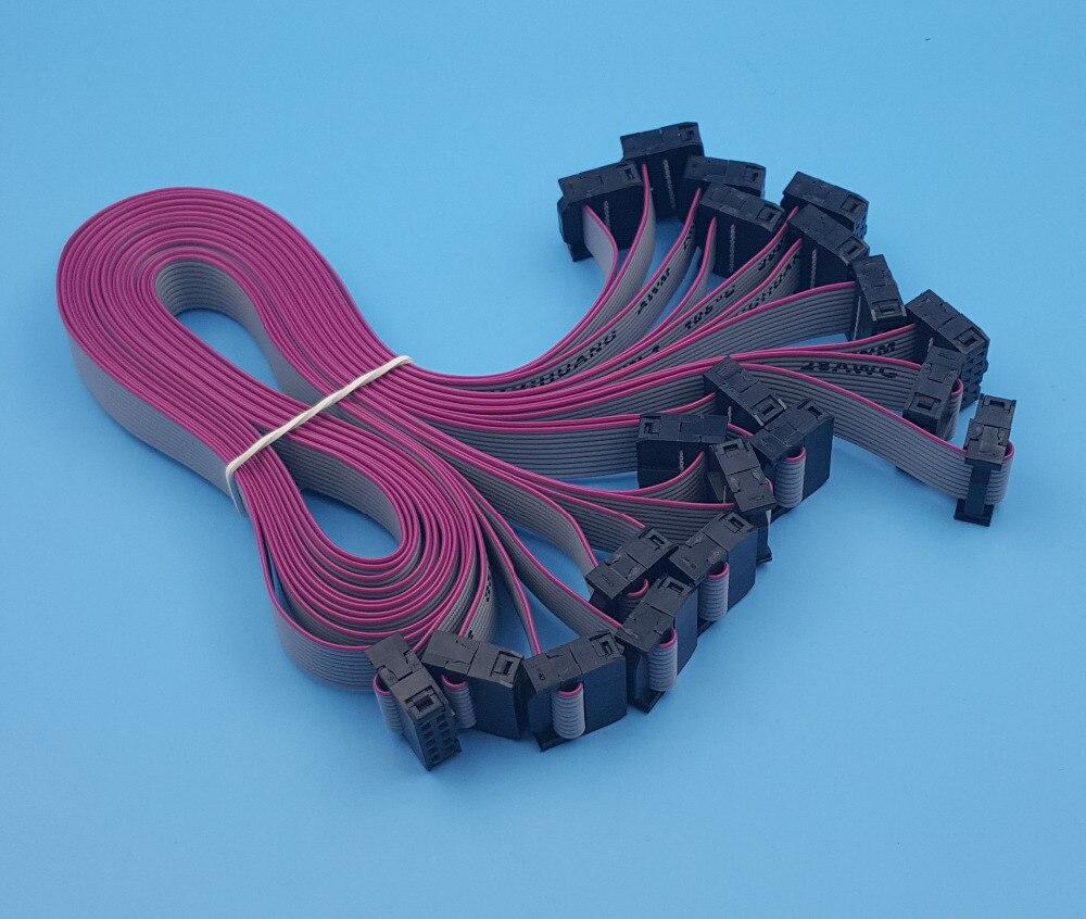 Idc Ribbon Cable Tester Circuit Gadgetronicx