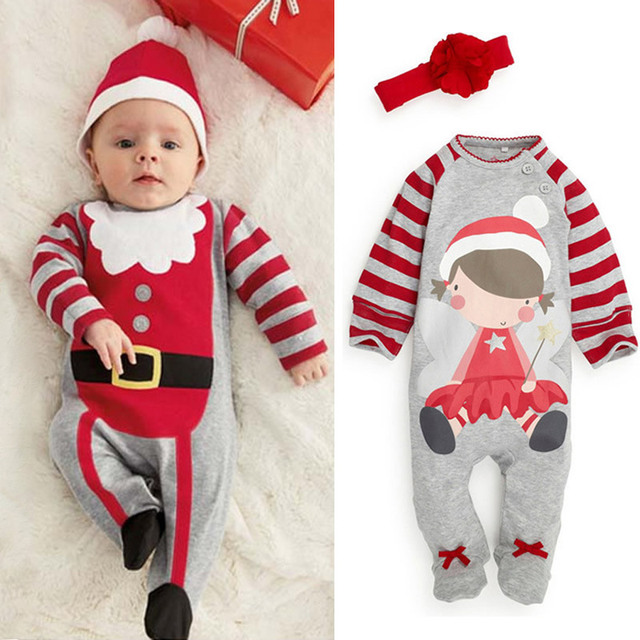 New Year s suit for boy Christmas costume for kids children Toddler baby  clothes bebe elf costumes for newborn boys clothing 33114626de