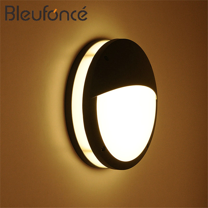 Porch Light LED Wall Lamp 12W Outdoor Waterproof Aluminum wall lamp Mounted Courtyard Led wall lights for Garden Sconce BL77 waterproof wall lamp led aluminum outdoor wall lamp up down light porch lights 6w led garden lights indoor wall sconce 220v bl31