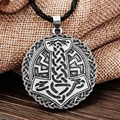 1pcs Norse Vikings Pendant Necklace Thor's Hammer Knot Viking and Sllavics Amulet Pendant Necklace Nordic Talisman