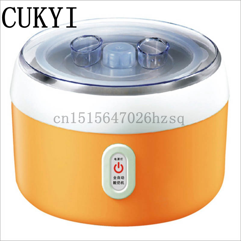CUKYI Yogurt maker Rice wine machine1.2L capacity ,electric and automatic,green,orange,pink, cukyi 270w household electric rice machine keep warm double layers multi purpose rice cooker