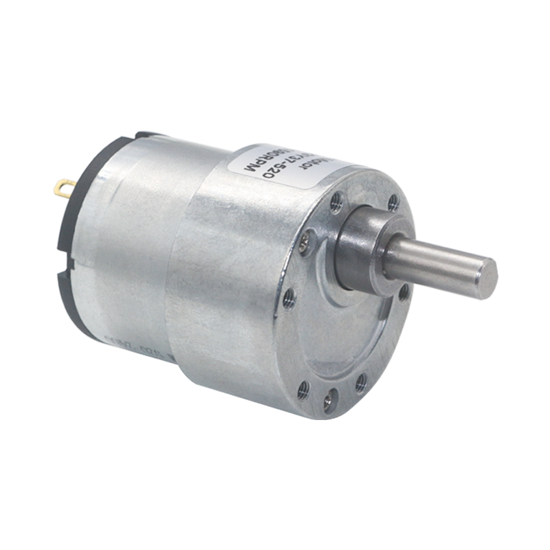 DC 12V 100RPM Gear Motor High Torque Electric Micro Speed Reduction Geared Motor 37mm Diameter Gearbox for Label Printers