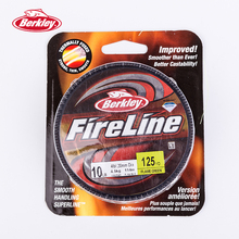 BERKLEY FireLine 125yd/114m Flame Green Braid Carp Fishing Lines Super Strong Thin Smooth Peche Tackle Pesca Accessories 4-30LB
