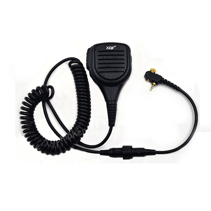 2Pcs Handheld Speaker Mic PTT for Motorola Portable Radio MTH800 MTP850 MTH600 MTH650 MTH850 MTS850 Transceiver